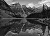 Timeless Moraine Lake (Jeff Clow) Tags: landscape albertacanada banffnationalpark morainelake canadianrockies ©jeffrclow jeffclowphototour banffphototour