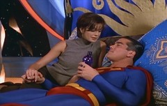 Superman and Lois Lane (Guardian Screen Images) Tags: show new costumes comics book dc costume kent tv comic teri books tights superman lane clark series adventures tight lois spandex lycra krypton hatcher the kryptonian kryptonians