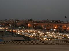 Djema el-Fna (miageografia) Tags: morroco maroc marrakesh djemma djema djama elfna djamma elfnaa
