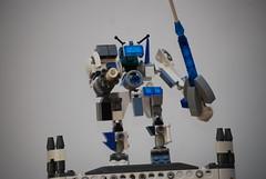 Mini Mech (Wafna-204) Tags: robot lego custom mech moc