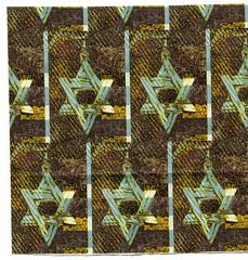 CITY OF DAVID (winterblossom58) Tags: wallpaper stars israel fabric jew jewish judaism starofdavid giftwrap magendavid jewishcommunity starsofdavid magendovid walldecals