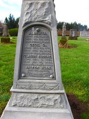forrester cemetery (DeadManTalking) Tags: cemetery oregon forrester clackamascounty whitebronze deadmantalking johnvancuren