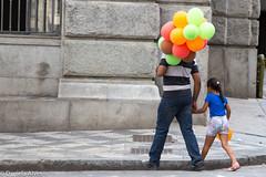 IMG_2249 (Daniela M Alves) Tags: street brazil people color canon balloons walking children sopaulo