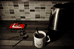 Alien Object #1 (Jason 87030) Tags: camera stilllife coffee car different shot kettle mug arrangement starskyandhutch cuttlery rushdenanddiamonds canoneosfotsummer tags014 tags026 tags002 englandukflickrtagphotfotimagesuk tags021 jasonrodhouse