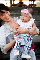 mother and baby (Sam Scholes) Tags: travel vacation portrait bali baby cute digital indonesia temple nikon child candid religion mother adorable hindu hinduism besakih rendang d300 purabesakih mothertempleofbesakih easternbali