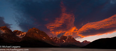 Norway Sunset (Michael Leggero) Tags: ocean sunset sea lake mountains nature water norway clouds sunrise river landscape michael europe leggero vision:sunset=077 vision:car=0603 vision:sky=098 vision:outdoor=0973 vision:clouds=0975
