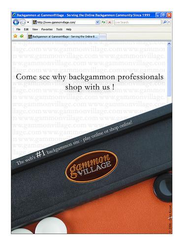 gammonvillage paper ad
