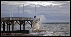 On se doute de rien (shellorz) Tags: sea mer beach wave vague plage breakingwave lehavre sainteadresse