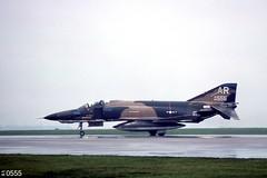 10th TRW  McDonnell-Douglas RF-4C Phantom II 68-0555 (Digital Vigilante) Tags: 1977 mcdonnelldouglas rf4c phantomii usafe rafalconbury 1sttrs 10thtrw artailcode 680555