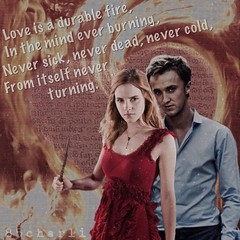 Love Is a Durable Fire (charli_sleeman) Tags: harrypotter dramione