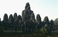 Siem Reap, Angkor Thom, Bayon (blauepics) Tags: world heritage stone architecture temple dawn cambodia kambodscha khmer faces religion buddhism unesco 1993 siem reap thom architektur angkor hi