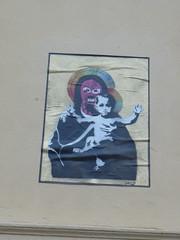 Pussy Madonna (svennevenn) Tags: streetart madonna bergen argus pasteups gatekunst pussyriot