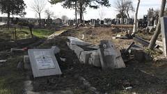 Pristina (Elza Finkinja) Tags: vandalism destroyed pristina ethniccleansing prishtina orthodoxcemetery serbiancemetery serbsofkosovo
