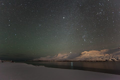 Night in Faskrudsfjordur (*Jonina*) Tags: longexposure winter mountains reflection night stars iceland explore orion sland vetur ntt speglun fjll 4000views 6000views 200faves 12000views 9000views sandfell fskrsfjrur 300faves faskrudsfjordur 14000views 13000views stjrnur jnnagurnskarsdttir