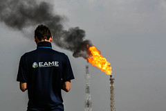 Gas Venting, Halfaya Oilfield