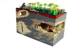Minecraft, the original (peggyjdb) Tags: bear england history tooth lego lion devon saber british torquay cavern neanderthal kentscavern kents britishhistory sabertoothlion