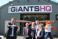 "Stephen Mosley MP Officially Opens new Chester Giants HQ • <a style=""font-size:0.8em;"" href=""http://www.flickr.com/photos/51035458@N07/13778702404/"" target=""_blank"">View on Flickr</a>"