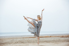 Woman ballerina in long dress dancing on the beach (Ksu Zviagin) Tags: woman barefoot slim girl beach sea sand outdoor blond travel dance female shake wind blonde relax hair exotic pretty sexy hill gorgeous model leisure natural attractive tropical white red stand caucasian fashion cute smile lady azure healthy look short sensual above long beauty frock beautiful nature hand happy