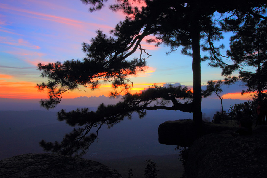 A favourite viewpoint in the Phu Kradueng National Park