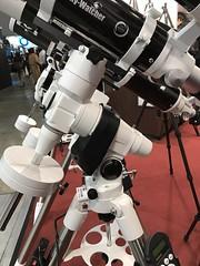 CP+ 2017: サイトロンジャパン Sky-Watcher EQ5 GOTO 赤道儀 (rna.japan) Tags: iphone4