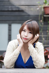DSC_5847 (錢龍) Tags: 希維亞 小希 文創園區 外拍 beauty sexy nikon d700 girl 短髮