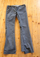 Jeans_basted (Two_tango) Tags: jeans denim pants trousers hose nähen sewing garments diy crafting