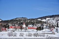Tadoussac sous la neige