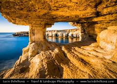 Cyprus - Ayia Napa - Cape Greco Natural Park - Unique Sea Cave (© Lucie Debelkova / www.luciedebelkova.com) Tags: capegreco cavogreco ayianapa agianapa cyprus κύπροσ kýpros kypr cy eu europe island world exploration trip vacation holiday place journey tour touring tourism tourist travel traveling visit visiting sight sightseeing water waterscape wasser agua coast coastline shoreline shore mar mer sea meer zee mare océan ocean seascape seaside coastal beach praia playa plage spiaggia strand landscape nature natuur natureza paysage paisaje paisagem paesaggio landschaft scenery scenic overlook outlook outdoor outdoors outside wonderful fantastic luciedebelkova wwwluciedebelkovacom