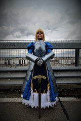 Saber (Giulio Photography) Tags: saber fatestaynight fatezero fatego cartoomics milano cosplay cosplayergirl cosplayers excalibur