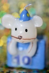 "Kiconico says ""happy 10 years!"" (k-lum79) Tags: hmm candle macro happy10years macromondays"