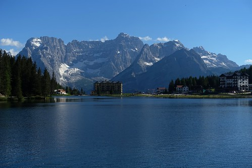 Lago di Misurina and Sorapiss