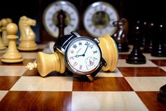"RGM Watch ""Chess in Enamel"" (R. Murphy Photography) Tags: chess rgm watch paul morphy watches board pieces fuji xpro2"