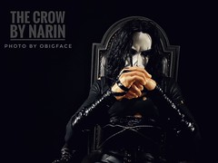 Narin : The Crow (OBigFace) Tags: crow narin maquette statue