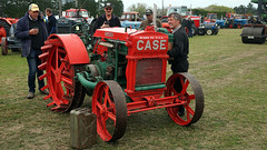 Starting Early Case Tractor. (Branxholm) Tags: plough plow harvest farm ranch cattle sheep horse wheat corn oats crawler bulldozer farmall case moline oliver john deere
