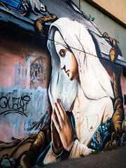 Andacht (-BigM-) Tags: deutschland germany baden württemberg stuttgart bad cannstatt hall fame grafitti streetart art kunst strasenkunst