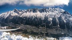 Mont Blanc range from a glider (vegard.magnus) Tags: glider gliding mountains planeur chamonix aiguilles rouges mont blanc montblanc fisheye dmc gm1