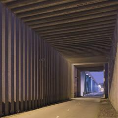 Calandbrug (Danny Holleman) Tags: night calandbrug harmsenbrug square rozenburg brielle dannyholleman concrete bridge fuji fujifilm