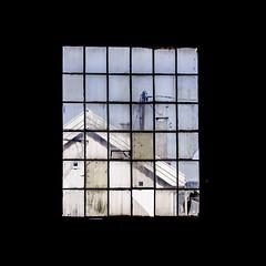 Window (Mona_Oslo) Tags: abandoned window squares architecture gressholmen oslo oslofjorden monajohansson