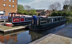 Bashfool. (dlanor smada) Tags: narrowboats grandunion canals aylesbury bucks