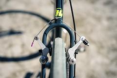 Duncan's *HUNTER CYCLES* cx complete bike (Blue Lug) Tags: hunter20170320 huntercycles cyclocross cxjp duncansbike bluelugstaffbike