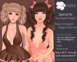 [^.^Ayashi^.^] Dassy hair special for The Kawaii Project