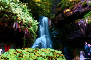 Lichtenhain waterfall, Saxony, Germany