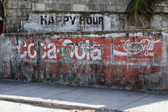 Land of Belize 2017 (James Patterson) Tags: belize belizecity centralamerica travel sign happyhour cocacola enjoycocacola coke