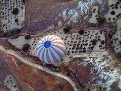 Hot air balloon ride in Cappadocia (maios) Tags: olympuse400 aerial αερόστατο τουρκία καππαδοκία avanos nevsehir