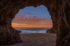 Throughout (EricGail_AdventureInFineArtPhotography) Tags: leocarrillo sunrise cave beach seascape canon caono70d