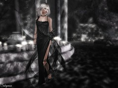 Sabrymoon wearing -AZUL- Aria dress @ Black Fair 2017 (Two Too Fashion) Tags: secondlife secondlifemodel secondlifefashion secondlifeblogger azul azulbymamijewell azulariaonyxdress ariaonyxdress theblackfair2017 fashion fashiondress highfashion highcouture fashiongown fashionoutfit elegantdress elegance exclusivedress chicoutfit chic