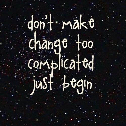#tidbits #change