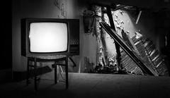 What's on channel 5? (think4d) Tags: abandonedplace brokenhouse debris eisenach fürstenhof tv