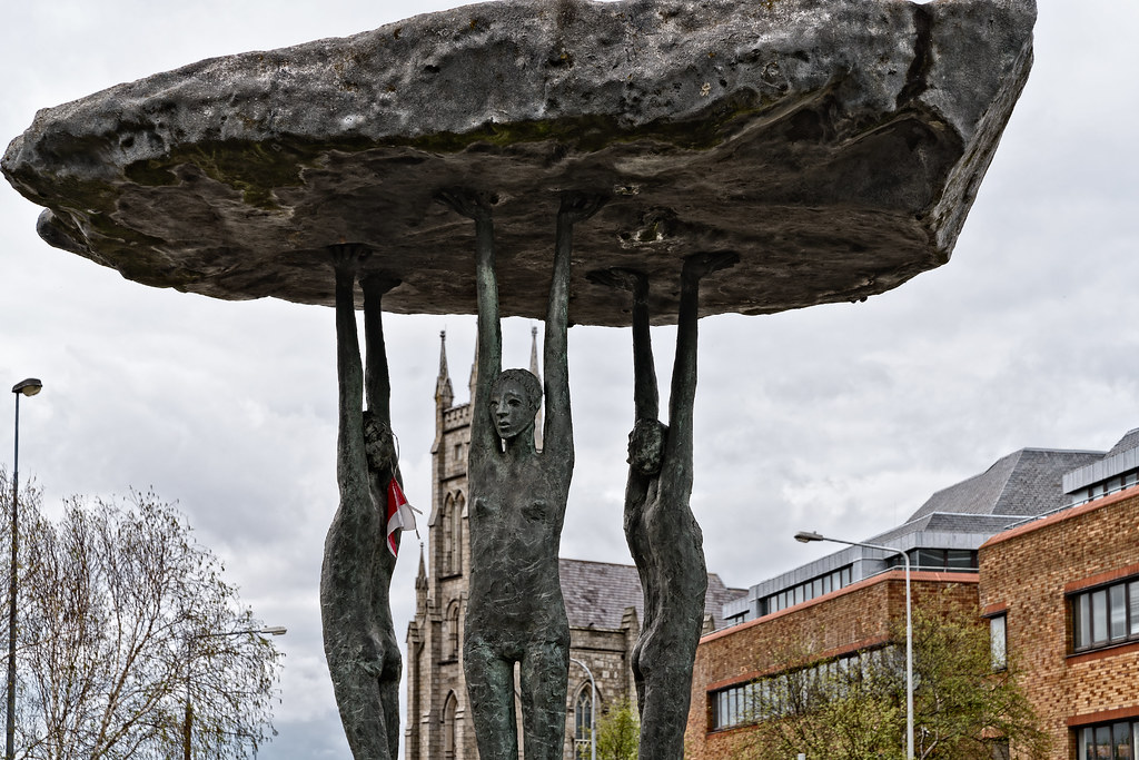 BLACKROCK DOLMEN BY ROWAN GILLESPIE [TEMPLE ROAD BLACKROCK]-126890
