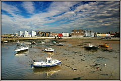 Margate Harbour (Jason 87030) Tags: boats vessels craft water easide coast harbour margate kent thanet uk england greatbritain unitedkingdom sky clouds weather tide fish gulls bird reflection building town scene view impressive nice cool britain april 2017